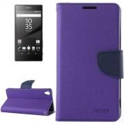 MLT rugalmas notesz tok Sony Xperia Z5 / Z5 Dual telefonhoz - LILA