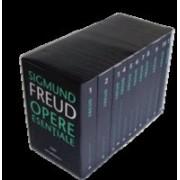 Cutie cu cele 11 volume ale Operelor Esenţiale Sigmund Freud