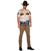 forum novelties Inc Mens Sheriff Man Shirt