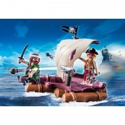 Pluta piratilor Playmobil