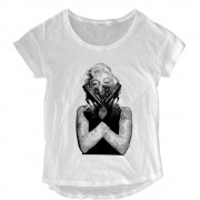 Marilyn With Guns Loose Fit Top