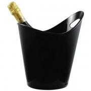 Paderno Seau à vin noir et ovale en acrylique - Seau - Paderno