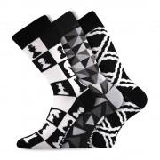 Woodoo MixC divatos zokni 3 pár egy csomagban
