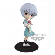 Evangelion Movie Q Posket Mini Figure Rei Ayanami Ver. B 14 cm