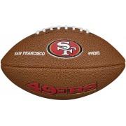 Lopta za ragbi NFL San Francisco 49ers Mini WTF1533XBSF