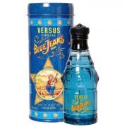 Versace Blue Jeans Man eau de toilette 75 ml uomo scatola danneggiata