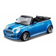 MiniCooper S Cabriolet - Metallic Blue - Minimodele Auto 1:32 Street Fire