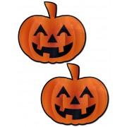 Pastease Caches-Seins Citrouille Halloween