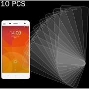 10 PCs Para Xiaomi Mi - 4 0.26mm 9h Dureza Superficial 2.5D A Prueba De Explosion Tempered Glass Screen Film