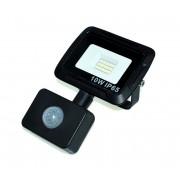 Proiector LED cu senzor LED/10W/230V IP65 3000K