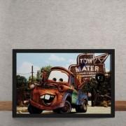 Quadro Decorativo Carros Filme Disney 25x35