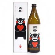 ≪熊本・高橋酒造≫米焼酎 白岳 「くまモンボトル」