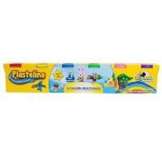 Plastelino - Pasta de modelat, 6 culori