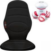 Масажна подложка за офис стол и автомобил HoMedics + Мини масажор Beurer MG 16