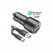 Cargador de coche USB para Samsung Galaxy S20 Plus Ultra ...