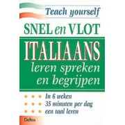 Deltas taalboek Learn it yourself Italiaans leren spreken en begrijpen