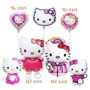 Set baloane pentru petreceri cu Hello Kitty (7 piese)