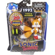 Sonic 20th Anniversary 3.5 Inch Action Figure 1992 Tails Grabber