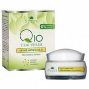 Crema Antirid de Zi cu Q10 si Ceai Verde 50ml