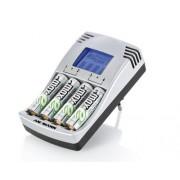 Caricabatterie a 4 alloggi e Display LCD (per Ministilo e Stilo) Ansmann PhotoCam IV - Include 4x da 2500mAh (AA)