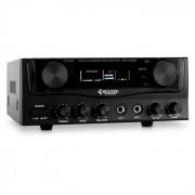 Auna HiFi Amp-2, amplificator Karaoke, 400 W (AV1-AMP-2-SING)