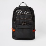 River Island Mens Prolific Black hiking backpack (One Size)
