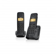 Teléfono Gigaset A120 Duo-Negro