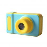 Camera digitala pentru copii On Vacation, 1080p, ecran LCD TFT, format JPG, Albastru/Galben