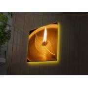 Tablou pe panza iluminat Ledda, 254LED4234, 40 x 40 cm, panza
