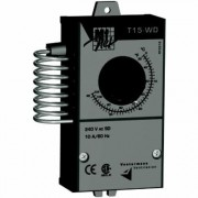 Vostermans Multifan Mechanical Thermostat - Single Pole, Double Throw, Model TT15WDCAM1A