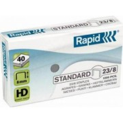 Capse RAPID Standard 23-8 1000 buc-cutie - pentru 10-40 coli