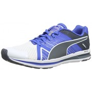 Puma Men's Faas 300 S V2 White-Strong Blue-Turbulence Mesh Running Shoes - 7 UK/India (40.5 EU)
