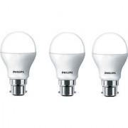 Philips 5 W Led Bulb (White Pack Of 3)