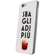 "Celly Custodia per iPhone 6 Plus 5.5"" Back Cover Sbaglia di Più Bianco"