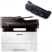 Лазерно многофункционално устройство Samsung Laser MFP Samsung SL-M2675FN Print/Scan/Copy/Fax - SL-M2675FN/SEE + Съвместима тонер касета MLT-D116L