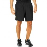 Adidas Black Polyester Running Shorts