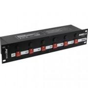 """Conrad Panel racku 48,3 cm (19"""") Eurolite Board se 6 ochrannými kontakty"""