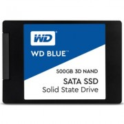 Диск ssd wd blue 500gb 2.5 sata iii 3d nand, read-write: up to 560mbs, 530mbs, wds500g2b0a