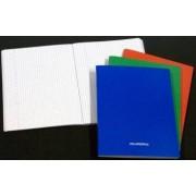 Caiet A5 60 file - 80g-mp liniat stanga coperta carton laminat AURORA - matematica