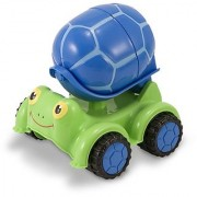 Melissa & Doug Sunny Patch Scootin Turtle Cement Mixer