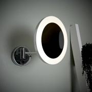 Hudson Reed Miroir Grossissant Salle de Bains lumineux 3W Monoun Ø 20cm