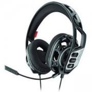 Геймърски слушалки Plantronics RIG 300HC, 3.5 mm жак, микрофон, черен/сребрист, PLANT-HEAD-212608-99