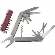 Victorinox švicarski nož SwissTool Plus I s etuijem broj funkcija 39 plemeniti čelik 3.0338.N