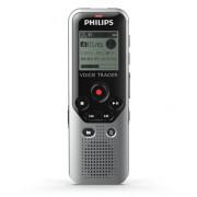Reportofon digital PHILIPS DVT1200, LCD, 4GB, USB (Argintiu)