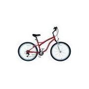 Bicicleta Grand Tour Aro 26 Unissex V-brake Vermelho Fischer