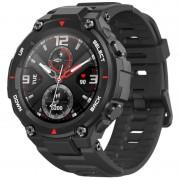 Smartwatch Xiaomi Huami Amazfit T-Rex, AMOLED 1.3 inch, GPS, Waterproof 5ATM (suporta inot), Bluetooth 5.0, 390 mAh, Negru