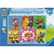 Puzzle Ravensburger - Paw Patrol, 100 piese XXL (10732)
