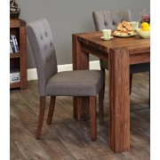 Baumhaus Shiro Walnut Shiro Walnut Dining Chair in Slate