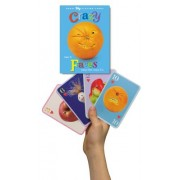 eeBoo Crazy Faces Card Game