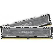 Memorija Crucial 32 GB Kit (16GBx2) DDR4 2400 CL16 1.2V DIMM Ballistix Sport LT, BLS2C16G4D240FSB